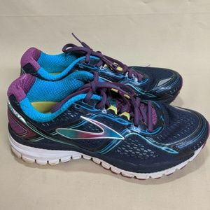 Brooks Ghost 8 Peacoat Women Running Shoes Size 8B